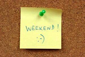 Sieben Vorschläge, wie Sie Ihre Woche abschließen können