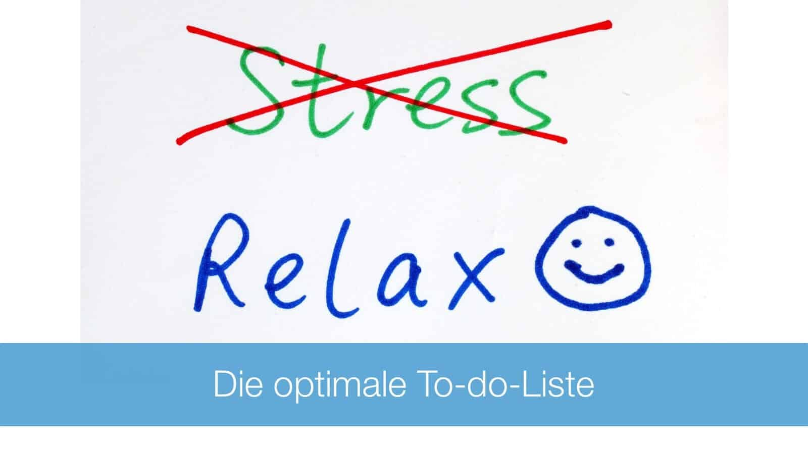So sieht die optimale To-do-Liste aus