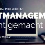 Webinar Zeitmanagement leicht gemacht