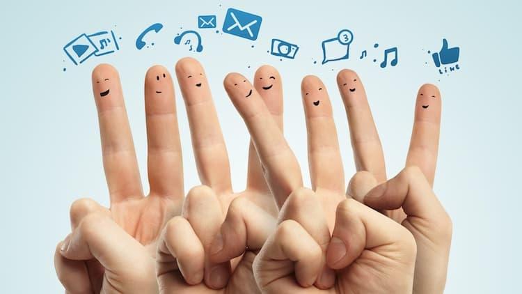 Zeit für Social Media
