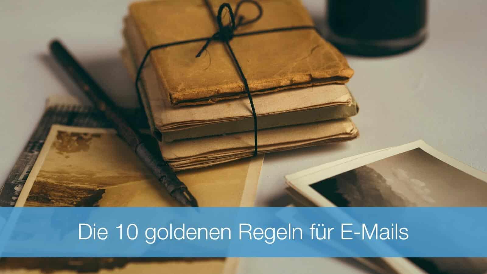 Regeln für E-Mails