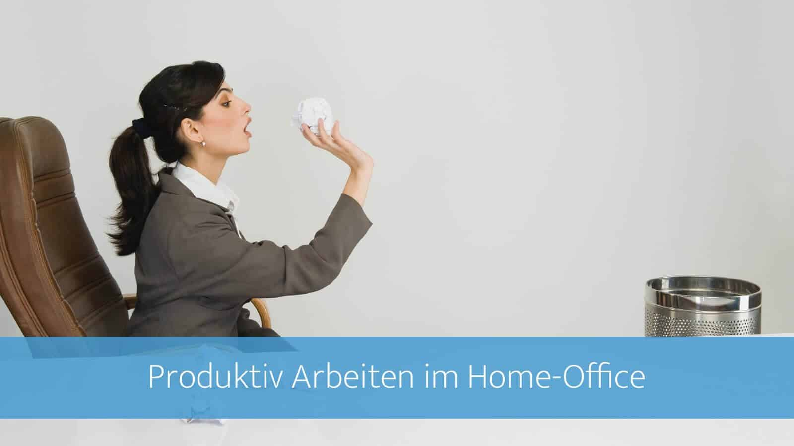 Produktiv im Home-Office