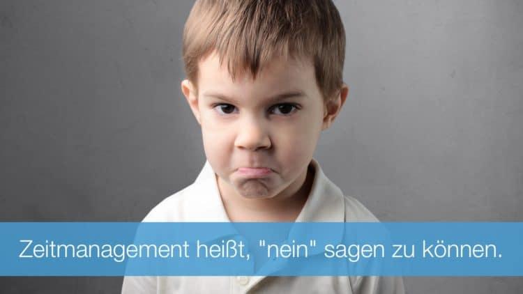 """#128: Zeitmanagement heißt auch, """"nein"""" sagen zu können"""