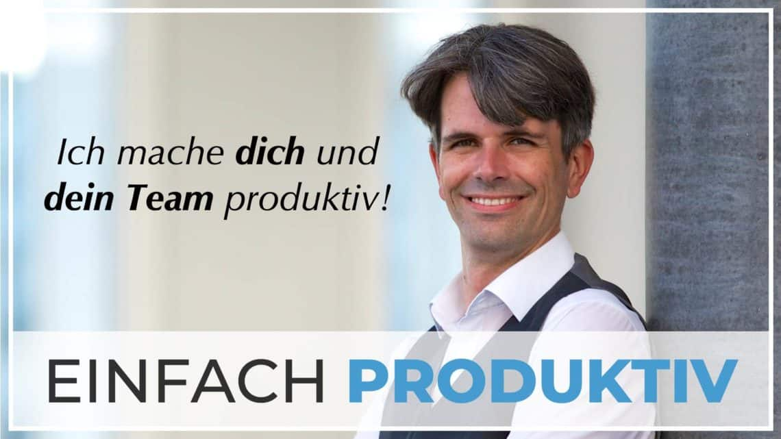 "Podcast Cover ""einfach produktiv"""