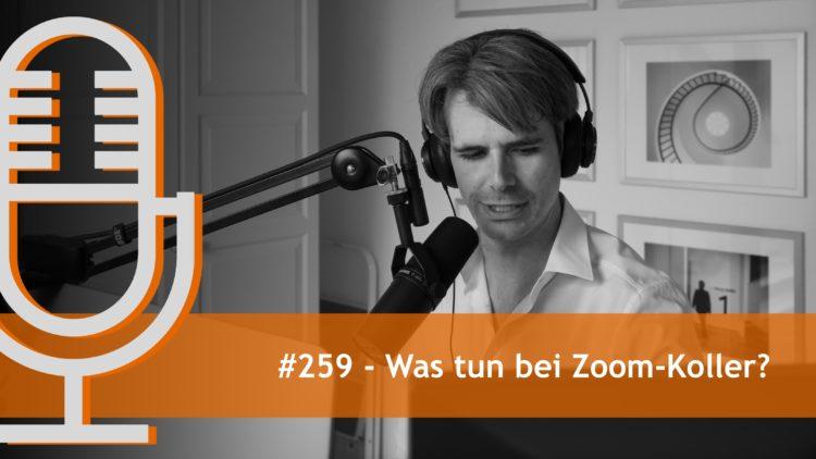 Was tun bei Zoom-Koller?